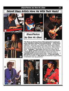 December 2011 Detroit Blues Artists Move Me With Their Music
