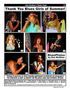 September 2014 [2] Thank You Blues Girls of Summer