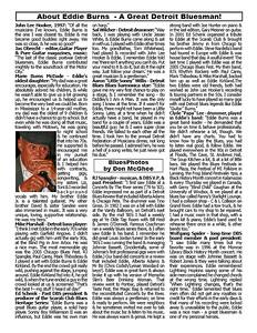 June 2015 About Eddie Burns - A Great Detroit Bluesman! [3]