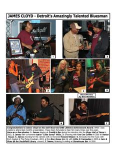 March 2015 JAMES CLOYD - Detroit's Amazingly Talented Bluesman