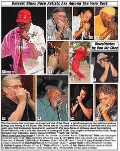 June 2013 Detroit Blues Harp Artists Are Among The Very Best