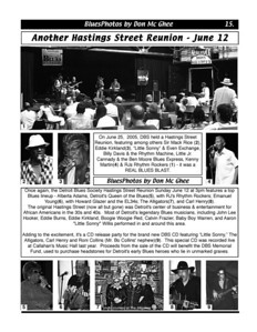 June 2011 Another Hastings Street Reunion - June 12