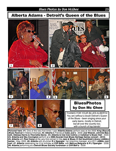 February 2014 Alberta Adams - Detroit's Queen of the Blues