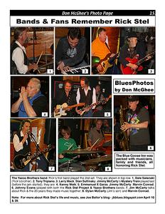 June 2014 (1) Bands & Fans Remember Rick Stel