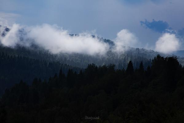 Po letniej burzy Bieszczady ©Mateusz Matysiak