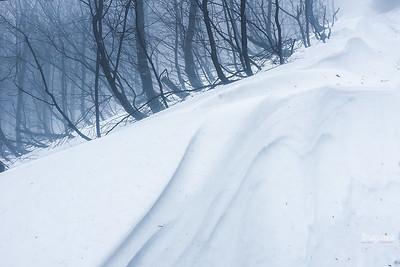 Pod zimową połoniną