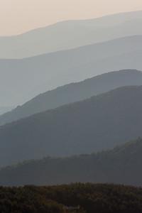 Jeden z widoków z Wielkiej Rawki Bieszczady ©Mateusz Matysiak