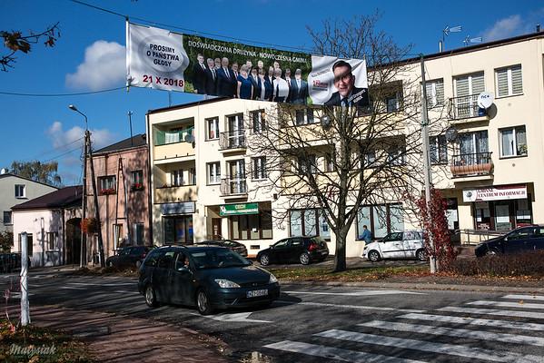 Mszczonów Wybory 2018 ©Agata Katafiasz-Matysiak