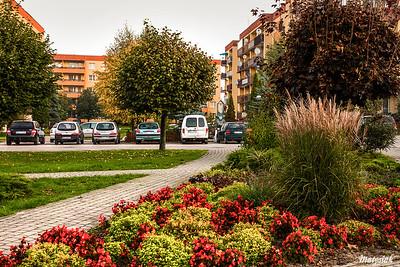 Osiedle wielorodzinne przy ul. Północnej w Mszczonowie ©Agata Katafiasz-Matysiak