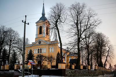 Kościół Parafialny p.w. św. Jana Chrzciciela Mszczonów ©Agata Katafiasz-Matysiak