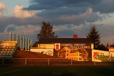 """Mszczonów Stadion Klubu Sportowego """"Mszczonowianka"""" ©Agata Katafiasz-Matysiak"""