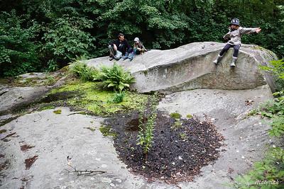 Głaz Mszczonowski Największy głaz narzutowy na Mazowszu Pomnik przyrody nieożywionej Zawady ©Agata Katafiasz-Matysiak