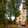 Kościół pw.  Świętego Stanisława Biskupa i Męczennika w Osuchowie (gm. Mszczonów)<br /> ©Agata Katafiasz-Matysiak