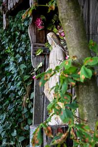 Kapliczka z figurką Św Anny ©Agata Katafiasz-Matysiak