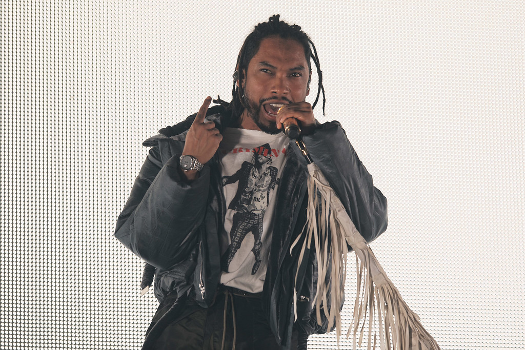 . Miguel live at The Royal Oak Music Theatre in Royal Oak, Michigan on 3/9/2018.  Photo credit: Ken Settle