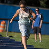 10 year old Alex Fitueroa at the Mike Austin Memorial Football Camp which is free to all boys and girls between the ages of 5 and 14 at the Leominster Pop Warner football field on July 31, 2017.  Mike Austin passed away in May of 2017 leaving behind 35 plus years of dedication to a number of youth athletic programs in Leominster.  SENTINEL & ENTERPRISE JEFF PORTER