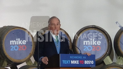 Mike Bloomberg at Rally in Richmond, VA