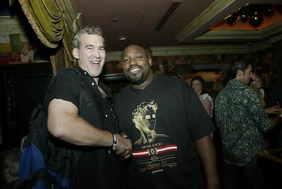 Mark Walters and NFL Star Warren Sapp