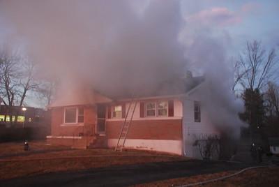 House Fire - 121 Belvedere Drive, Meriden, CT - 1/28/19