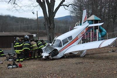 Airplane Crash - Meriden, CT - 1/20/18
