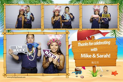 Mike & Sarah's Graduation Party (Fusion Photo Booth)