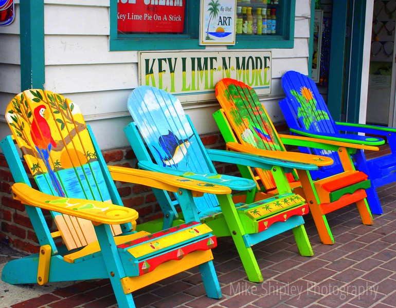 Key Lime Chairs, Key West, FK