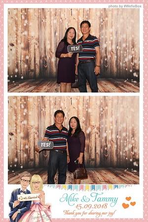 Mike & Tammy Wedding Photobooth - Chụp hình in ảnh lấy li�n Tiệc cưới