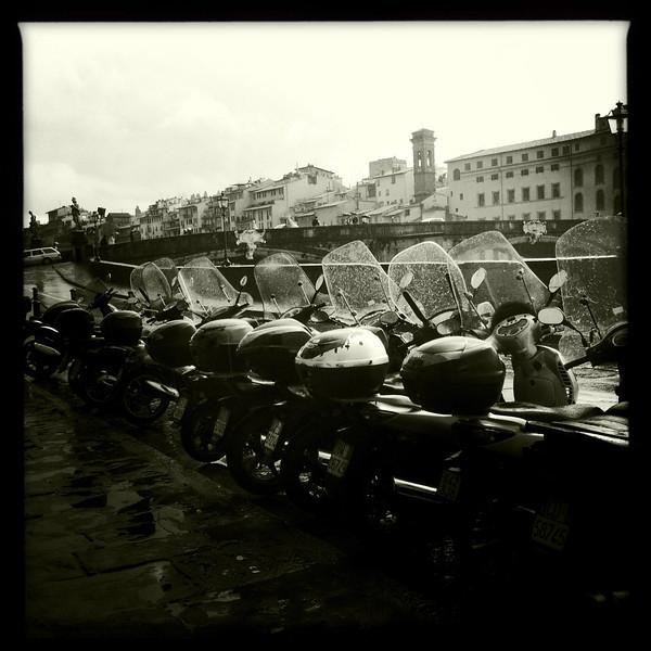 Ponte a Santa Trinita, Florence, June 7, 2011.