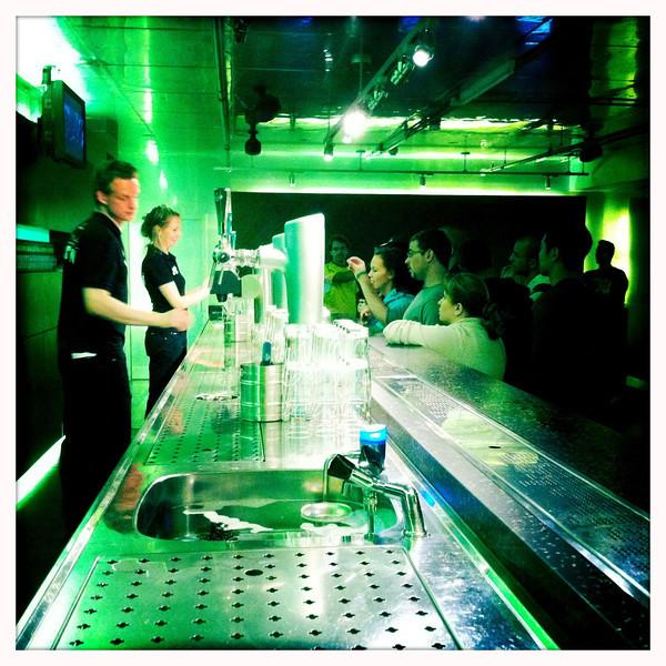 Heineken Experience, Amsterdam, June 17, 2011.