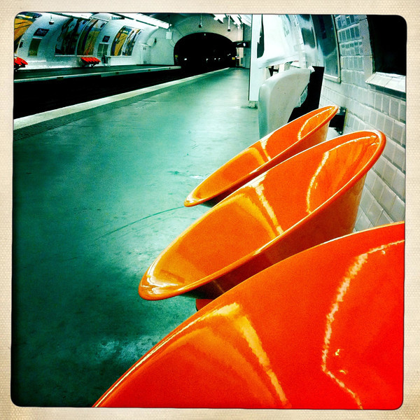 The Paris Metro, June 12, 2011.