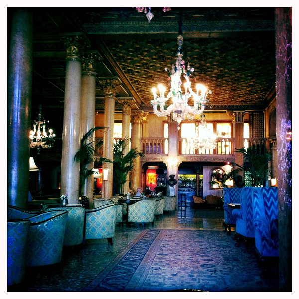 Hotel Danieli, where Angelina Jolie and Brad Pitt took a nice hotel and made an awful movie. June 11, 2011.