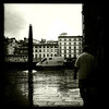 Near the Arno River, Florence, June 8, 2011.
