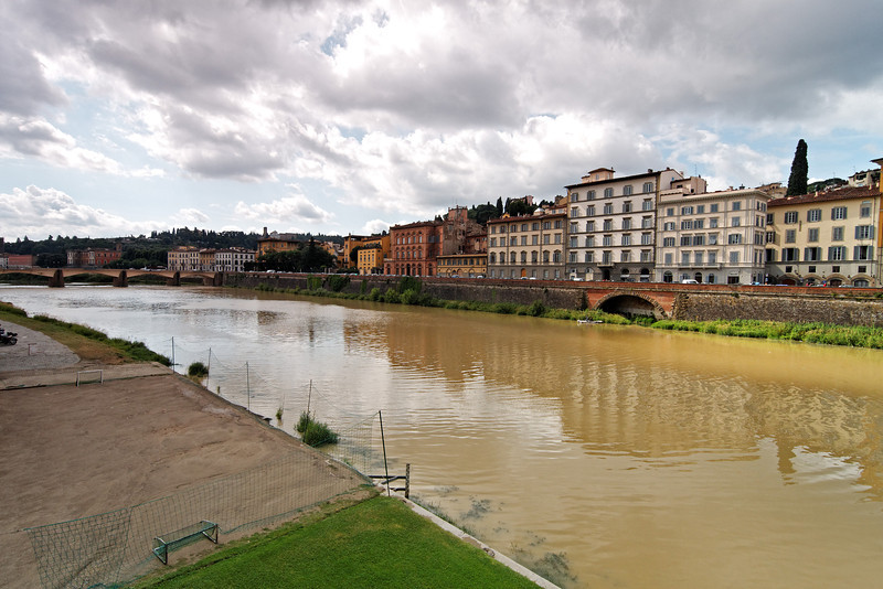 The Arno River.<br /> <br /> Florence_MC_06082011_001