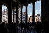 Entrance of the Pantheon, June 3, 2011.<br /> <br /> Rome_MC_06032011_012