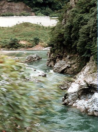 Hozugawa River Boat Ride 1997-08-13