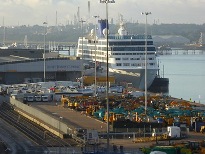 2017-09-Southampton (Disembarkation)