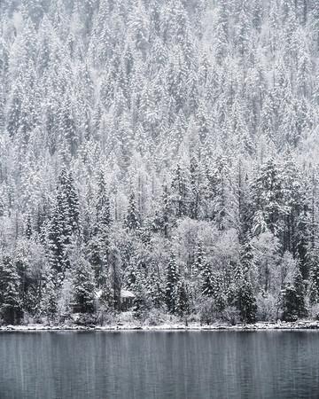 Kootenay Lake Snow