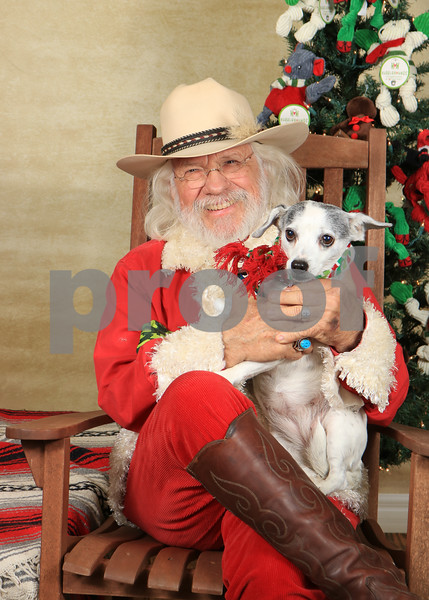Mike's Dog Santa Session 2017