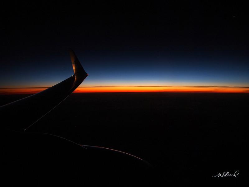 Flight over Holland