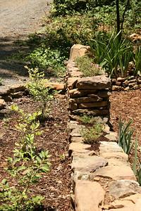 Front of garden area - June.