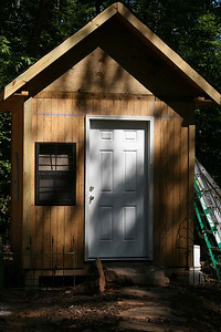Tool shed - Sept 2009.