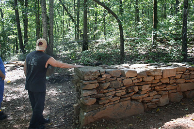 Stone wall - Sept 2009.