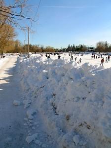Feb 8 - 22 - Snow Wall