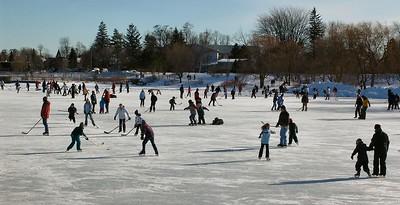 Feb 8 - 21 - Ice Hockey on the Lake