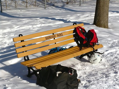 Feb 8 - 23 - A Bench that Makes a Statement!