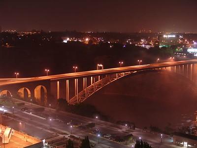 Niagara - Bridge at Night