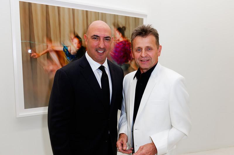 Mikhail Baryshnikov Photography Exhibition - Dance This Way Gary Nader Gallery