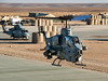 AH-1W prepares to depart from the airfield at Camp Leatherneck, Afghanistan.