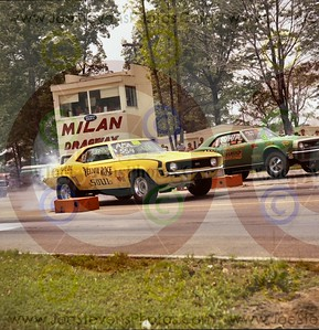 Milan Dragway 1968-69 Photos