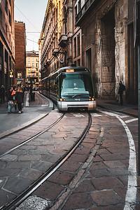 Street in Milan.